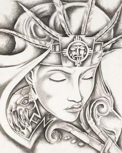 Diosa Azteca